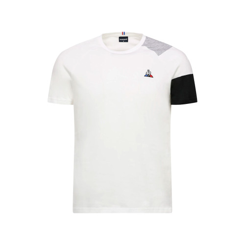 Mens Le Coq Sportif Essentials Short Sleeve Vintage Tricolour T-Shirt