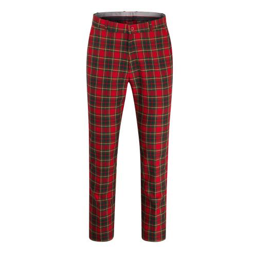 Relco Tartan Sta-Press Mod/Skin/Golf Trousers