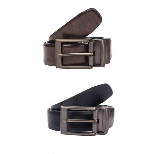 Mens Dents Classic 32mm Reversible Casual Leather Belt