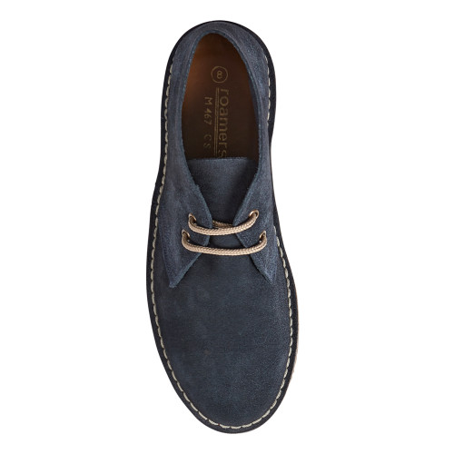 Roamers Mens Original Suede Mod Leather Desert Boots