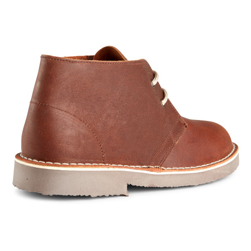 Roamers Mens Distressed Leather Welted Desert Boots