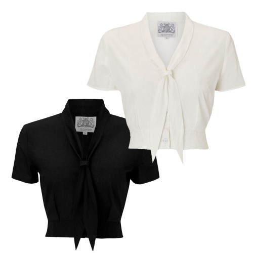 Seamstress Of Bloomsbury 1940s Sailor-Inspired Bonnie Blouse