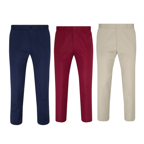 Relco Mens Sta-Press Vintage Mod Trousers