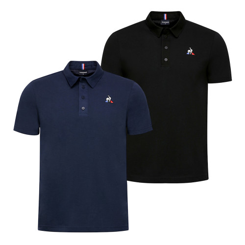 Mens Le Coq Sportif Essentials No.2 Short Sleeve Polo Shirt