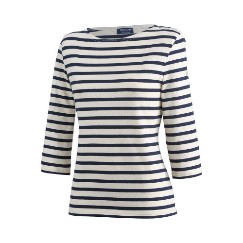 Womens Saint James Huitriere III Traditional Breton 3/4 Sleeve T-Shirt