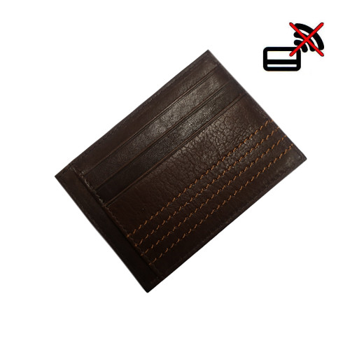 Mens Dents RFID Blocking Credit Card Holder Leather Wallet
