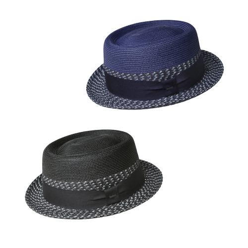 Mens Bailey of Hollywood Niver Summer Pork Pie Hat
