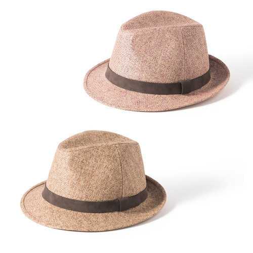 Mens Failsworth Retro Straw Trilby Summer Hat