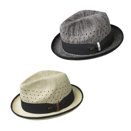 Mens Bailey of Hollywood Bascom Summer Trilby Fedora Hat