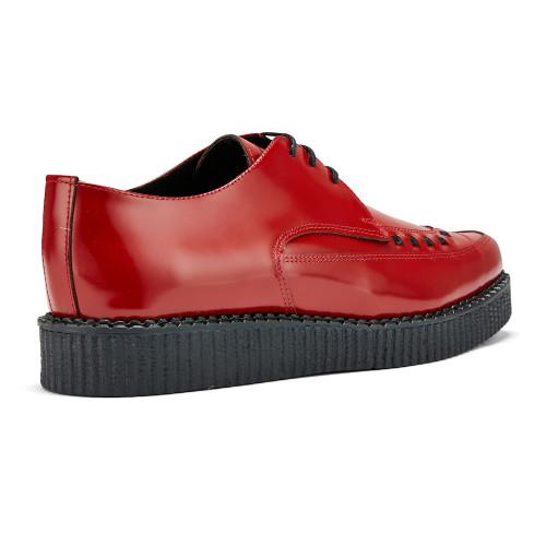 Womens Undercover Roxy Single Sole Rockabilly Interlace Creeper Shoes