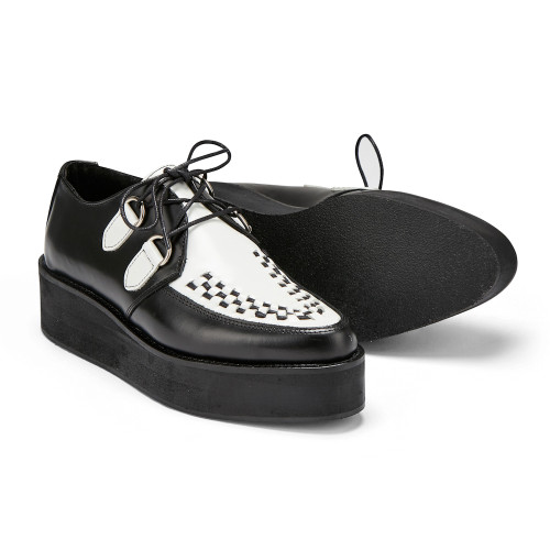 Womens Undercover Strummer Double Sole Rockabilly Creeper Shoe