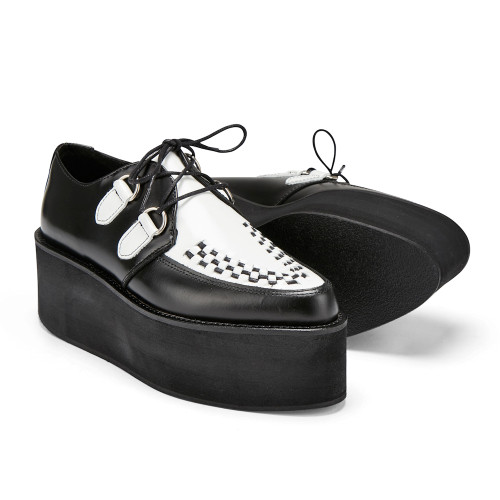 Womens Undercover Strummer Triple Sole Rockabilly Creeper Shoe