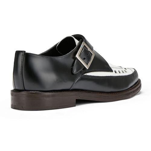 Mens Undercover Buzzcock Rockabilly Interlace Monk Shoe