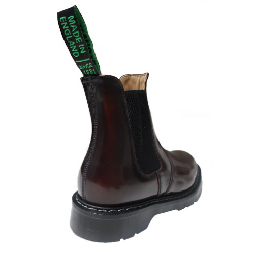 Womens Solovair Goodyear Welted Cushion Sole Dealer Boot - Made in the UK