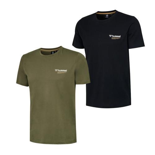 Mens Hummel Kirby Retro Logo Short Sleeve T-Shirt