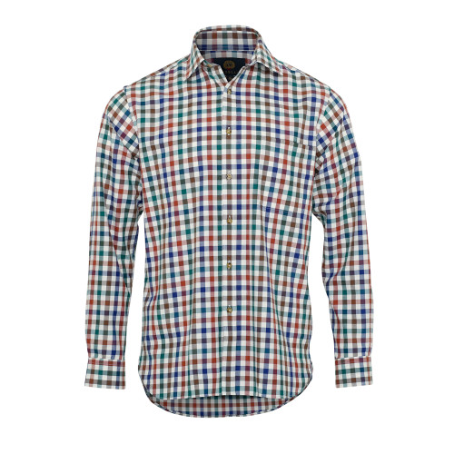 Mens Viyella Classic Fit Melange Club Check Shirt