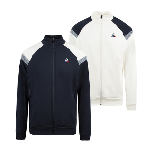 Mens Le Coq Sportif Essentials IMPRIME No.1 Full Zip Sweatshirt