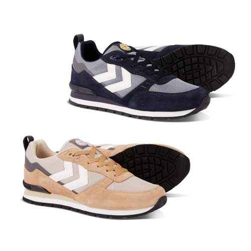 Mens Hummel Thor Retro Archive Heritage Trainers