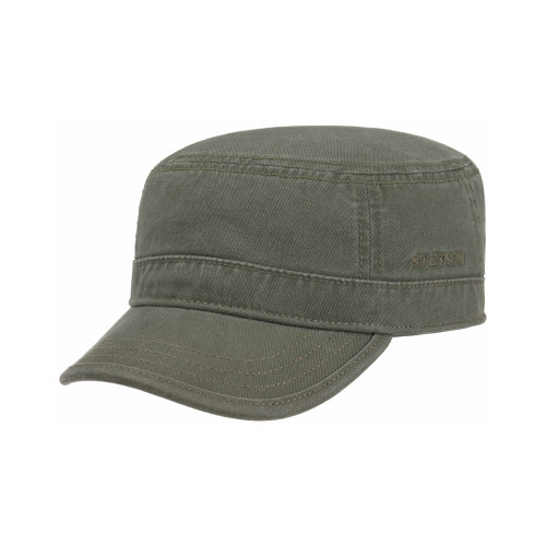 Stetson Retro Style Cotton Gosper Army Cap