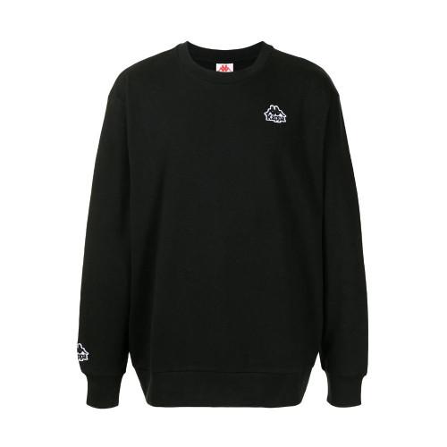 Mens Kappa Authentic Tajasy Logo 90s Sweatshirt