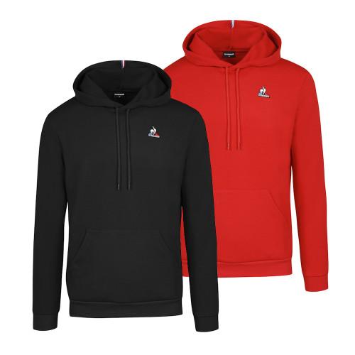 Mens Le Coq Sportif Essentials No.1 Hooded Sweatshirt