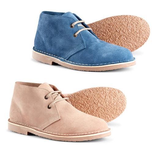 Womens Roamers Soft Suede Mod Desert Boots