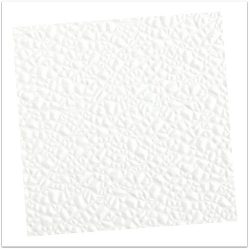 4' x 12' class C bright white pebbled FRP (fiberglass reinforced paneling)