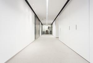 Hospital or Office Corridor