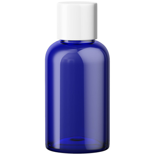 60mL PET Blue Storage Bottle