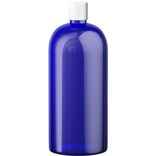 1 Liter PET Blue Storage Bottle