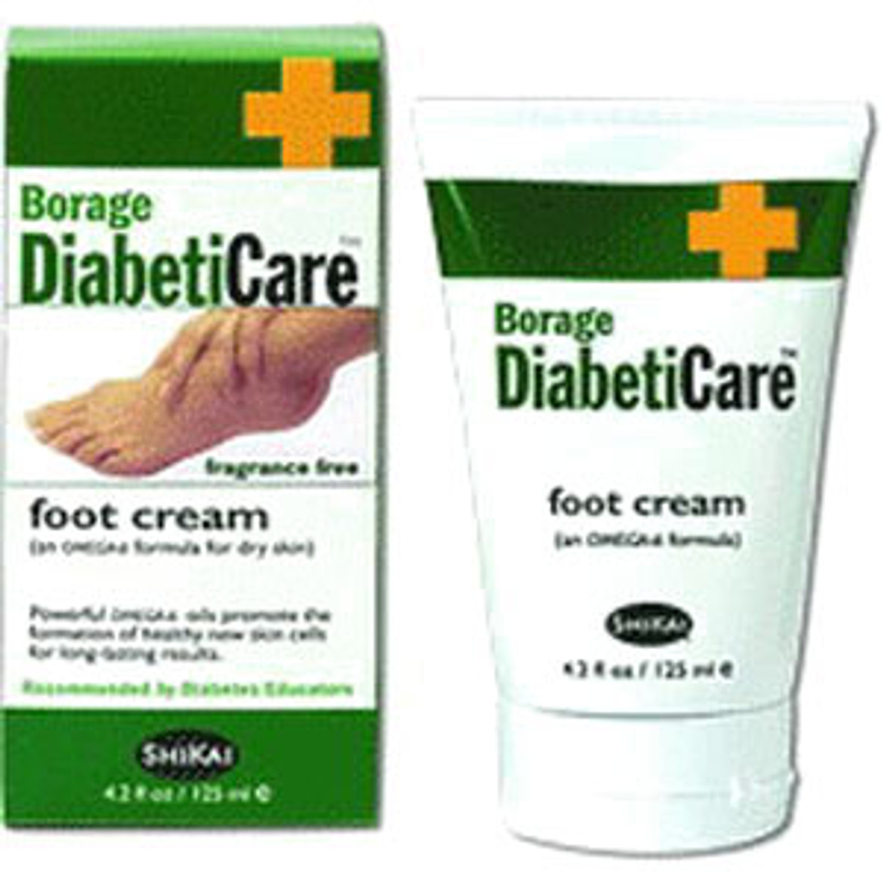 Borage Diabetic Foot Cream 4 2 Oz Tube