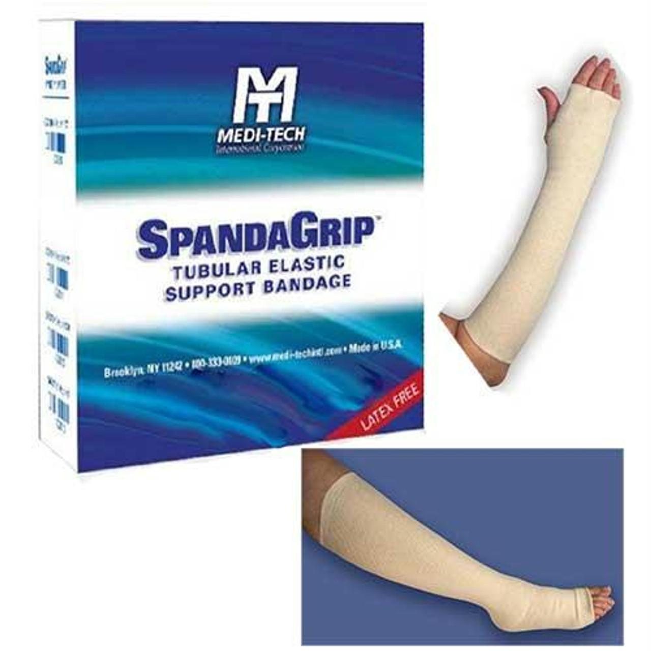 Spandagrip Tubular Elastic Support Bandage Size F 4 X 11 Yds