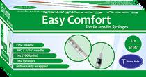 EasyComfort 30g 1cc Syringe