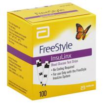Freestyle insulinx 100 ct