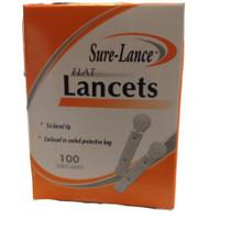 Sure-Lance Flat Lancets 100ct.