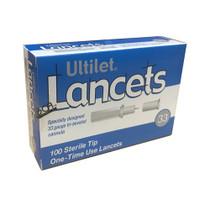 Ultilet Lancets 33g (Pull Top)