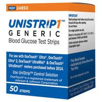Unistrip 50ct Test Strips