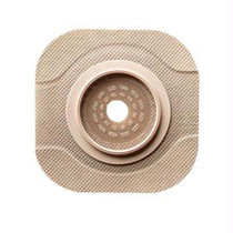 """New Image Ceraplus 2-piece Cut-to-fit Tape Border (extended Wear) Barrier Opening 1-3/4"""" Stoma Size 2-1/4"""" Flange Size"""