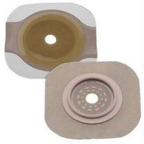 """New Image 2-piece Cut-to-fit Flat Flexwear (standard Wear) Skin Barrier 2-1/4"""" Opening, 2-3/4"""" Flange Size"""