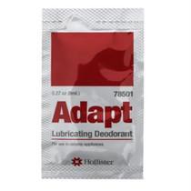 Adapt Lubricating Deodorant Sachet Packets, 1/4 Oz.