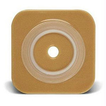 """Sur-fit Natura Stomahesive Cut-to-fit Wafer 4"""" X 4"""", 1"""" To 1/4"""" Flange"""