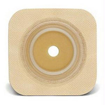 "Sur-fit Natura Durahesive Cut-to-fit Skin Barrier 5"" X 5"", 2-1/4"" Flange - 413167"