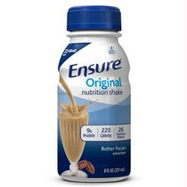 Ensure Butter Pecan Retail 8oz. Bottle