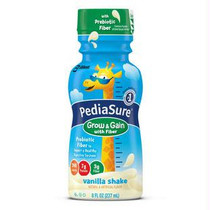Pediasure Grow & Gain With Fiber Vanilla Retail 8 Oz. Bottle