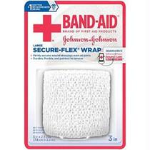 """J & J Band-aid First Aid Securflex Wrap 3"""" X 2.5 Yds"""