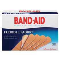 "Band-aid Flexible Fabric Strip Adhesive Bandag 3/4"" X 3"""