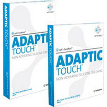 """Adaptic Touch Non-adhering Silicone Dressing 3"""" X 2"""""""