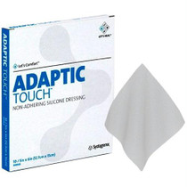 """Adaptic Touch Non-adhering Silicone Dressing, 5"""" X 6"""""""