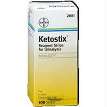 Ames Ketostix Reagent Test Strip (100 Count)