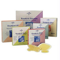 "Exuderm Low Profile Colloidal Hydrocolloid Dressing 4"" X 4"""